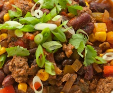 beef veggie chili recipe